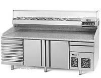 Охлаждающий стол для пиццы   POI238S6#AGI234 GGM