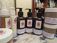 Шампунь лечебный натуральный из мыльных орехов для укрепления и роста волос.200 мл