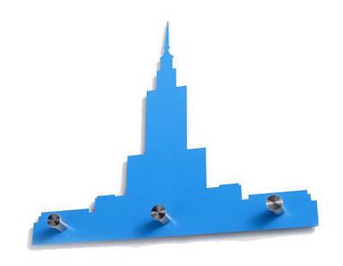 Вешалка тройной Дворец синий