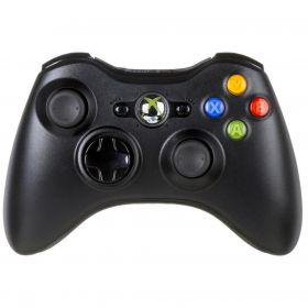 Геймпад Microsoft Xbox 360 Wireless Controller, black (беспроводной)