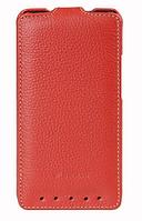 Чехол флип Melkco Leather Case Jacka HTC One M7 Red