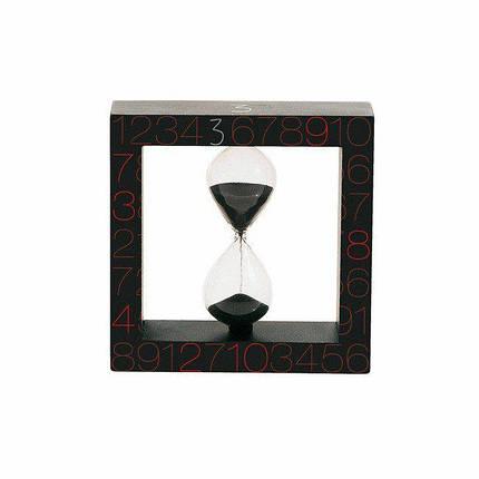 Песочные часы в деревянном корпусе Si-Time на 3 минуты, фото 2