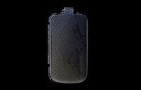 Кожаный футляр Mavis Classic PYTHON 103x52/110x54 для Nokia 305/308/311/Nokia C5-03