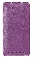 Чохол фліп Melkco Leather Case Jacka HTC One M7 Purple