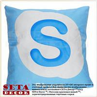 Наволочка на подушку Skype 43х43 см, декоративная