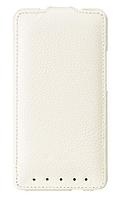 Чохол фліп Melkco Leather Case Jacka HTC One M7 White