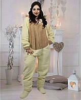 Кигуруми цельная теплая пижама домашний крутой костюм