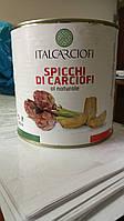 Артишоки четвертинки натуральные 2,5 кг (Италия) ТМ Italcarciofi