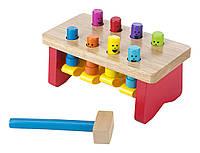 Деревянная игрушка с молотком Melissa & Doug
