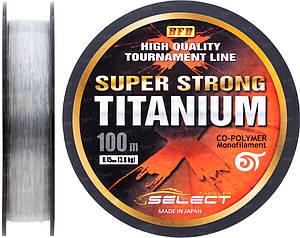 Леска Select Titanium 0,15 steel, 3,8 kg 100m (1862.00.05)
