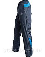 Мужские спортивные штаны Адидас из плащевки на х/б подкладке  копия