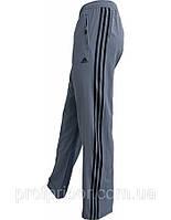 Мужские спортивные штаны Адидас из микрофибры на х/б подкладке копия
