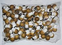 Искусственны грибы упаковка 100 шт для декора