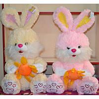 Мягкая игрушка Кролик с цветком (42см) №2329-42