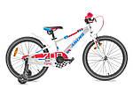"""Детский велосипед ARDIS TOPIC METAL 20"""" Белый/Красный"""