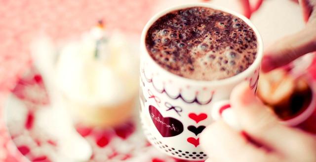 Чай, кофе, какао, горячий шоколад
