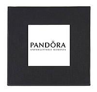 Черная подарочная картонная коробка Pandora для наручных часов