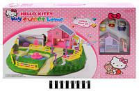 Будинок  для ляльок Hello Kitty 3947-2 р.52х6х35 см. /24/