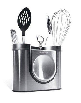 Поддон для столовых приборов и кухонных инструментов Simplehuman, фото 2