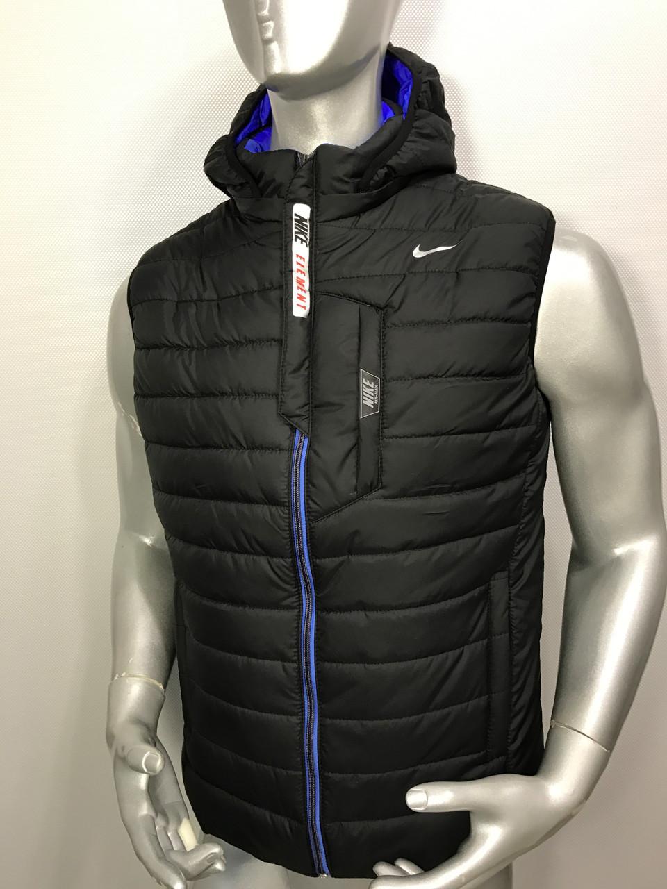 Мужская спортивная жилетка Nike копия 38da7a167ff