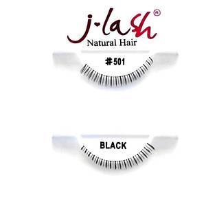 БЕСПЛАТНО ПРИ ЗАКАЗЕ ОТ 500 ГРН. !!!Накладные ресницы J Lash Natural Eyelashes #501