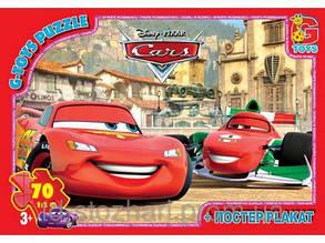 Пазл GToys 70 CARS