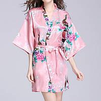 Женский халат с цветочным принтом YAOTING AL8320