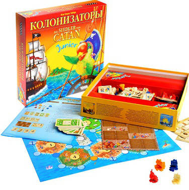 Настольная игра Колонизаторы Junior, фото 2
