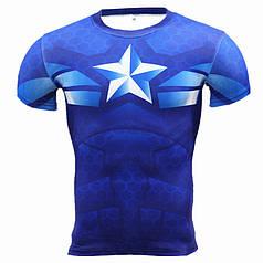 Мужская футболка Captain America AL2055