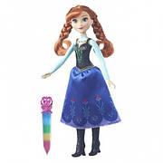 Оригінал, Модна лялька Ганна (Anna) в сяючому вбранні Disney Frozen