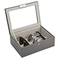 Коробка для солнцезащитные очки Stackers серые
