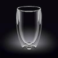 Thermo Стакан с двойным дном 550мл стекло Wilmax