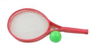 Детский набор для игры в теннис ТехноК (красный)