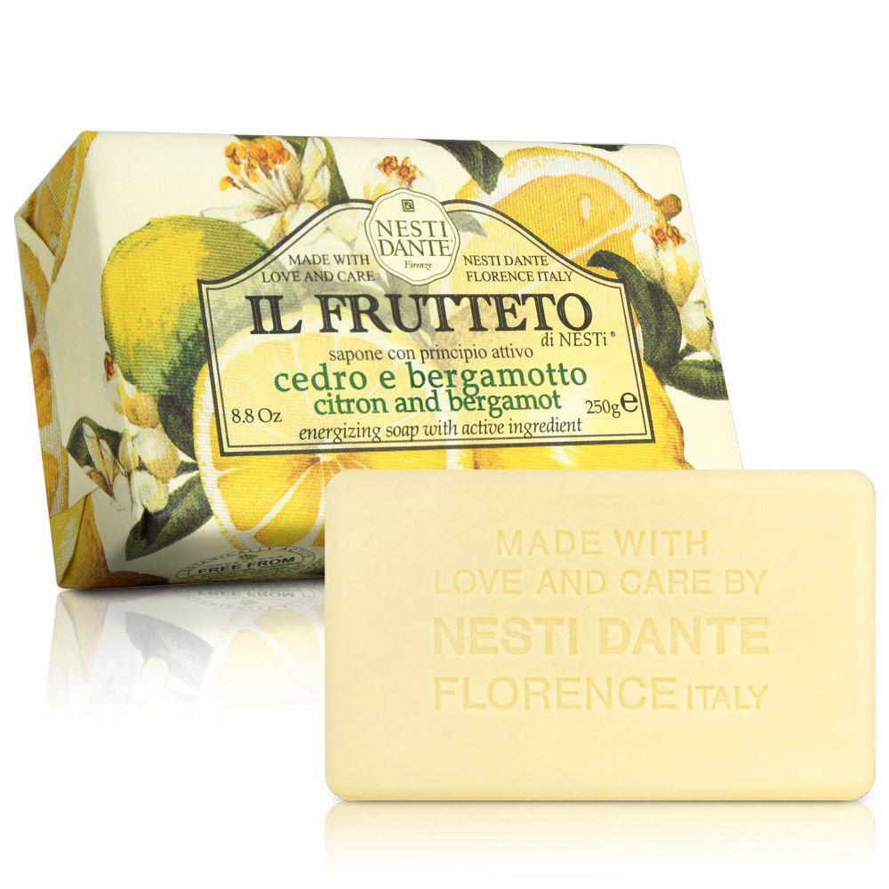 Nesti Dante Il Frutteto Мыло Лимон и Бергамот 250г Citrus and Bergamot