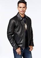 PERRY ELLIS фирменная куртка натуральная кожа р.52-Укр люкс из США L-USA