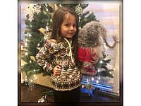 Детский спортивный костюм с орнаментом (86-116 см) 12П2170