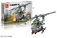 Конструктор JIE STAR 29038 военный вертолет 156дет.кор.28,5*5,5*19 ш.к./48/