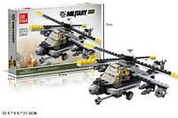 Конструктор JIE STAR 29041 военный вертолет 222дет.кор.32,5*5,5*21 ш.к./36/