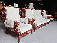 Ексклюзивний комплект мяких меблів 3+1+1