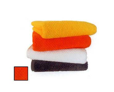 Полотенце оранжевого цвета: лишила 50x30 см S. Oliver гладкий