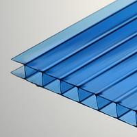 Поликарбонат сотовый 4 мм синий Oscar Чехия