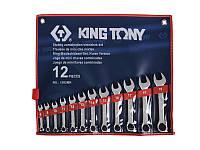 Набор укороченных комбинированных ключей 8-19мм, 12 предметов.