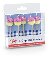 Свечи на торт Кекс 5 шт.