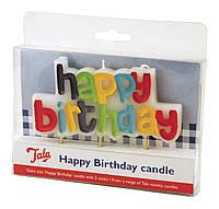 Свеча в торт с Днем Рождения