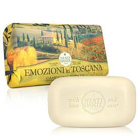 Парфюмированное Мыло Nesti Dante Emozioni in Toscana Золотая страна 250г Эмоции Тосканы