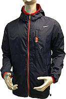 Мужская ветровка Nike полу батал копия, весенние куртки Nike, спортивные куртки Найк копия