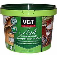 ВГТ / VGT акриловый лак для наружных и внутренних работ глянцевый