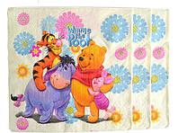 Салфетки бумажные 20 штук Винни Пух
