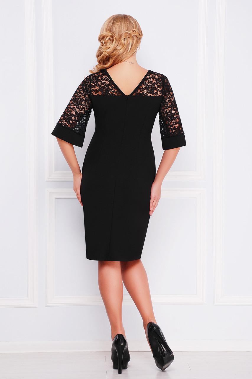 Жіноче чорне плаття з мереживом Kris за доступною ціною від ... a03dfa1eb8127