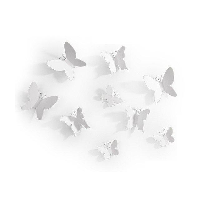 Отделки стен Mariposa белая